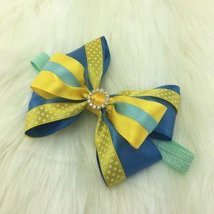 Handmade Princess Hair Bow Headband